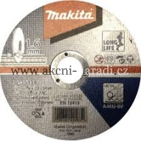 MAKITA B-35134  Řezný kotouč,kov, long life 125x1,6mm